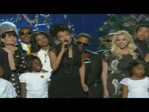 Judith Hill  Heal the world Singing at the Michael Jackson Memorial