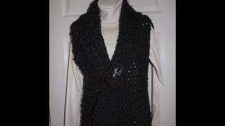 Crochet chaleco o bolero bien facil - con Ruby Stedman