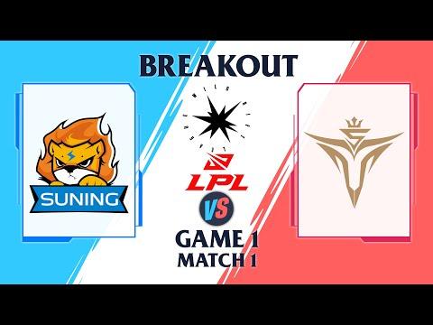 Suning vs V5 - Wild Rift League 2022 - Game 1