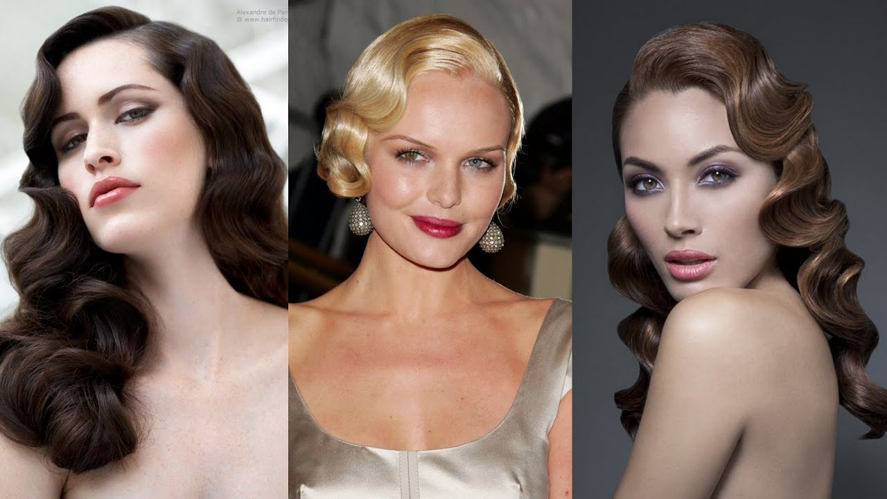 18 Gorgeous Finger Wave Hairstyles Youtube