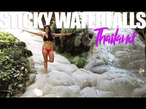 BUA THONG WATERFALLS | Incredible Sticky Waterfalls Chiang Mai