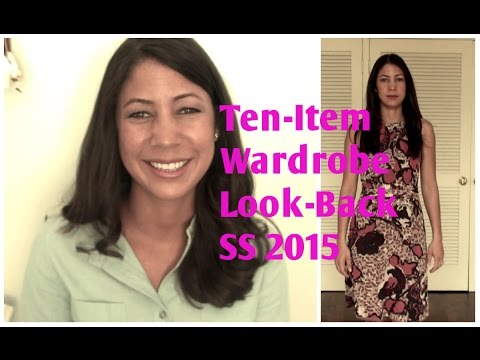 Ten-Item Wardrobe Look-Back SS 2015