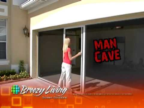 Breezy Living Screen Garage Door Youtube
