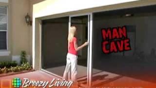 Breezy Living Screen Garage Door