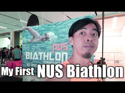 My First NUS Biathlon 2019 Singapore