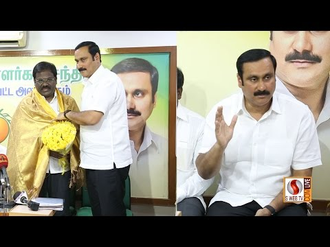 Removing liquor shop From National Highway ANBUMANI RAMADOSS PRESS MEET