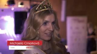 Miss Slovensko 2017: Michaela Cmarková získala titul II.vicemiss