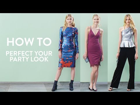 How to Perfect Your Party Look | Nordstrom