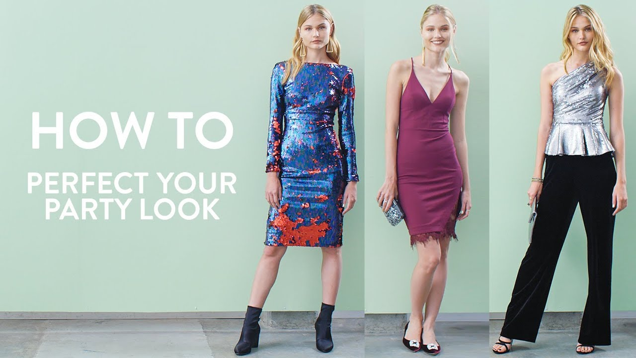 How to Perfect Your Party Look | Nordstrom - YouTube