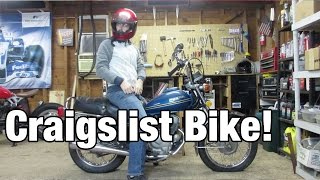 I bought a motorcycle on craigslist