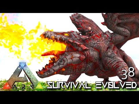 ARK: SURVIVAL EVOLVED - VOLCANIC DRAGON MONSTER INCINEROX E38 !!! ( PRIMAL FEAR PYRIA )