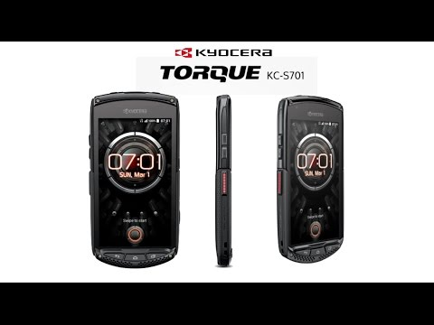 Kyocera Torque KC-S701 LTE - Rugged Android smartphone