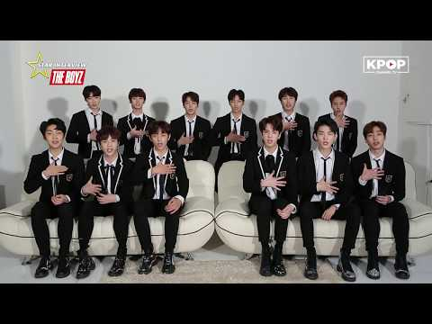 THE BOYZ ARE HERE TO SAY Hi! STAR INTERVIEW 더보이즈