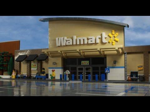 Lego Walmart Shopping