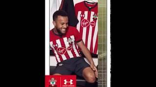 Southampton fc and under armour present 2018/19 premier league kits