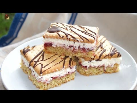 Butterkeks Kuchen Cremig Fruchtig Youtube