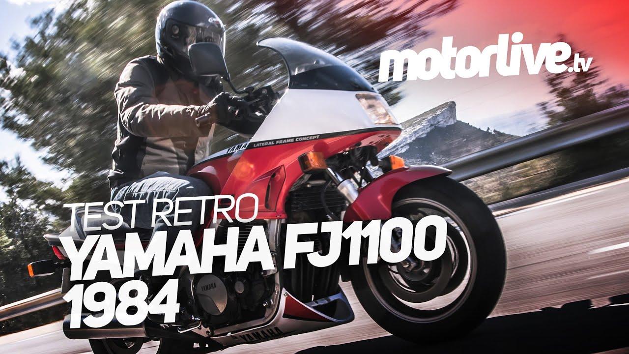 TEST RETRO | YAMAHA FJ1100 - 1984 - YouTube