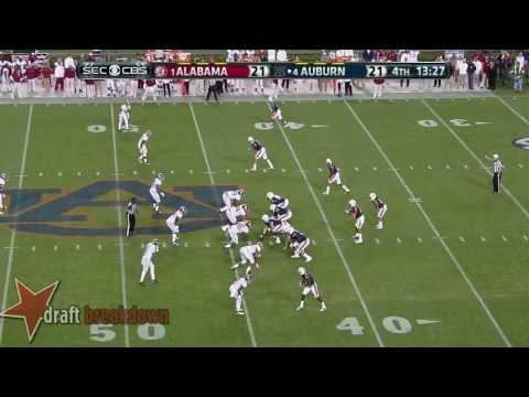 #73 Greg Robinson, LT, Auburn Vs Alabama '13