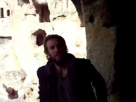 Exploring amazing cliff dwellings in Cappadocia, Turkey