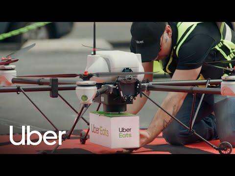 UBER AIR: Delivering Uber Eats with Drones | Uber Elevate | Uber