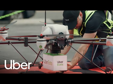 Big Macs From Above Uber Plans To Deliver Mcdonalds Via Drone Dronelife