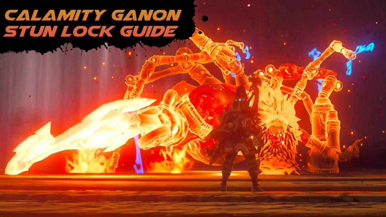 Calamity ganon stun lock guide youtube.
