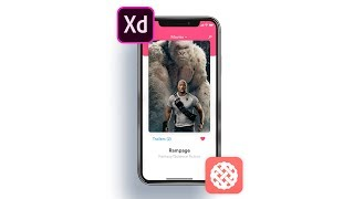 Video Design to Prototype with Adobe Xd and ProtoPie   Movie App - Part 1 download MP3, 3GP, MP4, WEBM, AVI, FLV Juni 2018