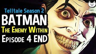Batman The Enemy Within Episode 4 Ending - HE'S HERE - ( Telltale Batman Season 2 EP.4 End)
