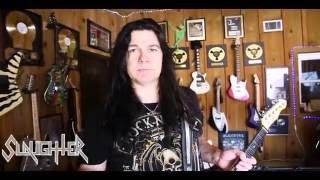 Mark Slaughter Rig Rundown Shaw Audio Tonerod MG Amp