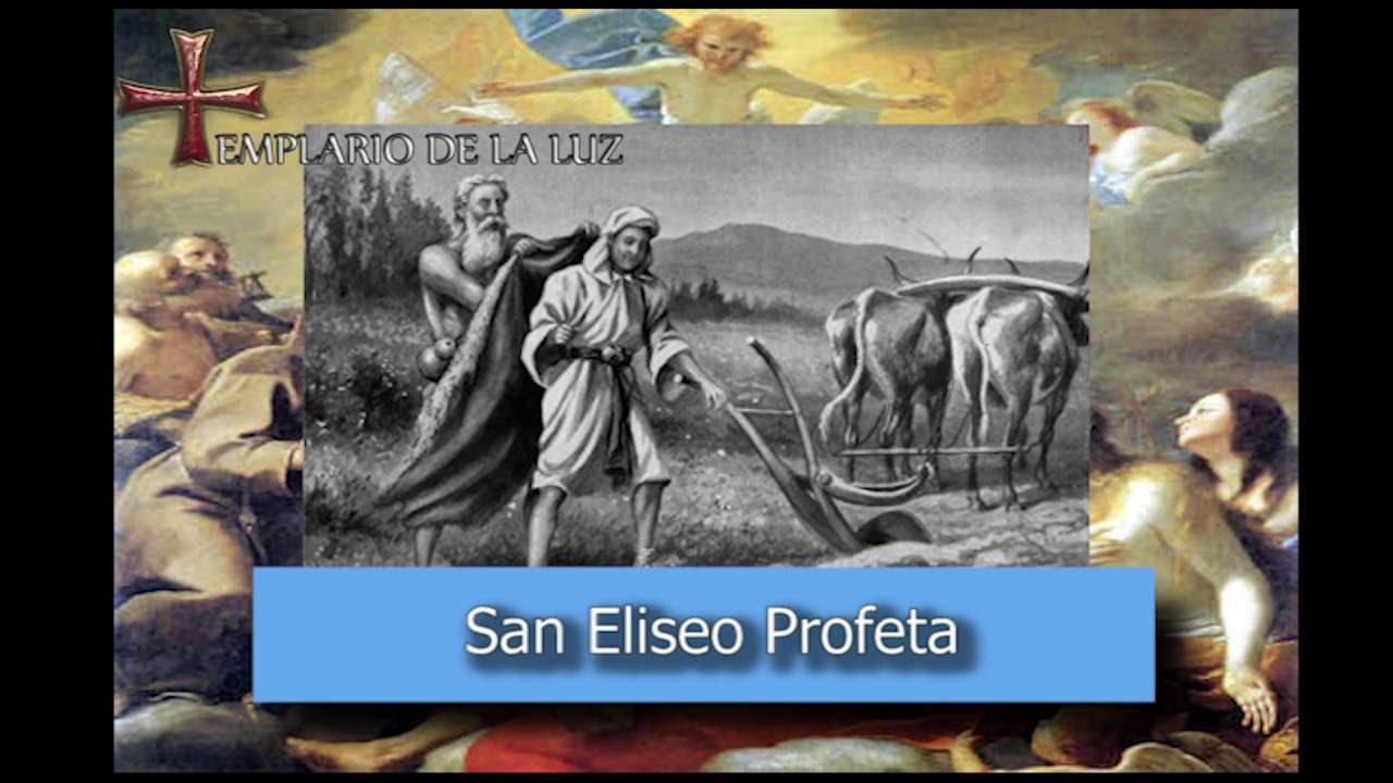Resultado de imagen para San Eliseo, Profeta
