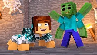 VIREI AMIGO DOS MONSTROS !! [ Vida de Aranha #2 ] - Minecraft