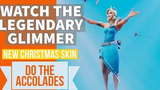 Fortnite's Christmas Day Skin Is An Ice Queen Glimmer and The new Accolades Emote