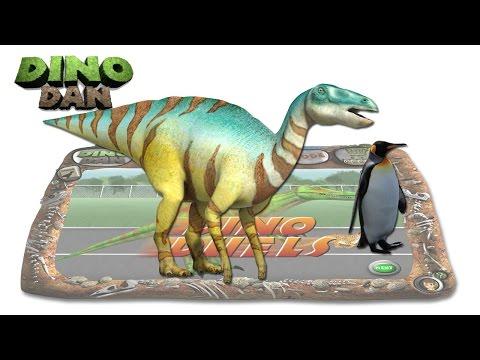 DINO DAN : DINO DUELS #14 Edmontosaurus VS.  Penguin
