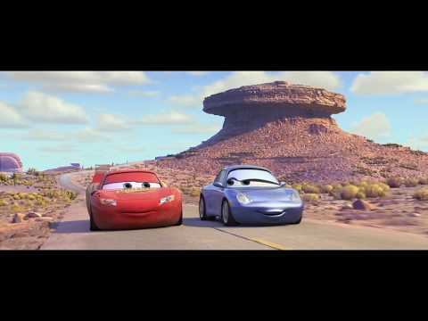 Cars  Mcqueen and Sally take a drive  HD