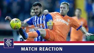 REACTION | Scott Arfield | Kilmarnock 0-0 Rangers