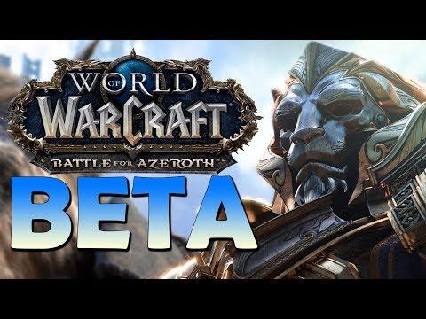 Battle for Azeroth BETA! VOD#01 - Intro Scenario/Dungeons/Questing (Alliance)