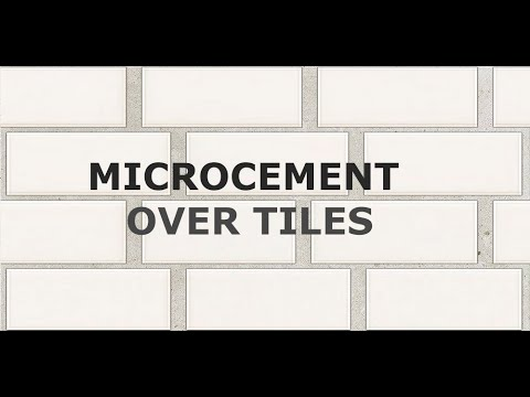 Application Tutorial Traditional Microcement