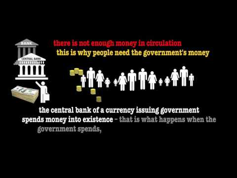 Government Debt = Private Assets