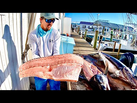 Broadbill Swordfish Catch And Clean With Capt. Nick Stanczyk