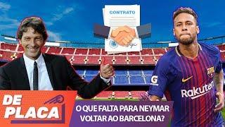 Neymar pode fechar ainda hoje com o barcelona!
