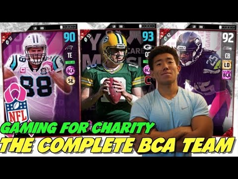 THE COMPLETE BCA TEAM! KAY RAGES! GAMING FOR CHARITY! MADDEN ULTIMATE TEAM 17