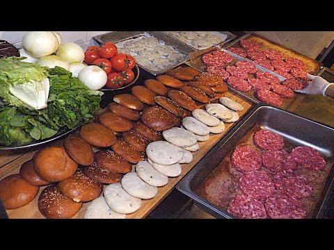 A man's amazing homemade burger - 푸드킹덤 Food Kingdom