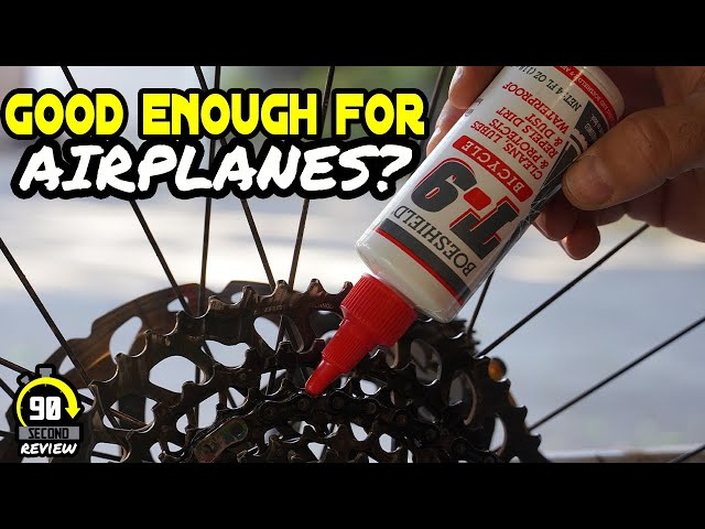 This stuff is not what I expected!!! - T9 Chain Lube - 90 Second Review