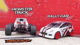 Dromida 1/18 Monster Truck FPV RTR w/5.8GHz Goggles Video