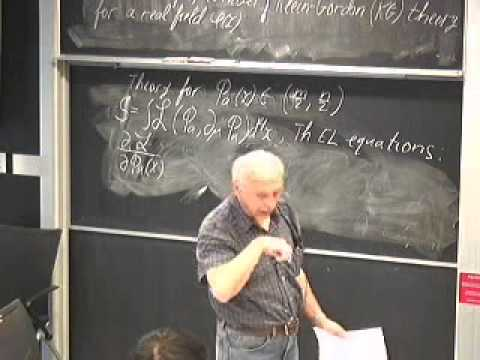 Quantum Field Theory. Lecture 4.