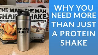 Why you need more than just a protein shake - The Man Shake