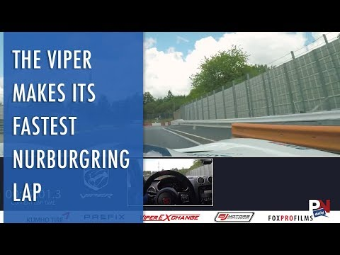 The Viper Makes Its Final And Fastest Nurburgring Lap