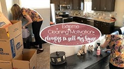 EXTREME CLEANING MOTIVATION :: CLEANING TO SELL OUR HOME :: MONDAY MOTIVATION