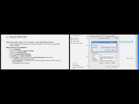 How To Install Eclipse, MinGW And MSYS
