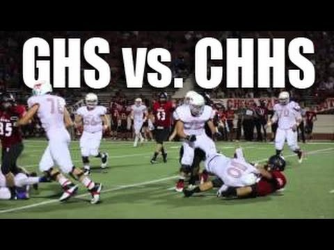 Grapevine vs Colleyville Rivalry Football Game